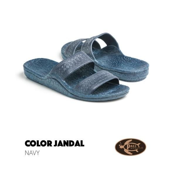 bc1f895cba4da1 NWT Authentic Pali Hawaii Jesus Sandals Navy Blue